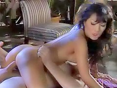 Erotic cock ride with sexy couple