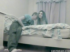 Good homemade POV teen sex