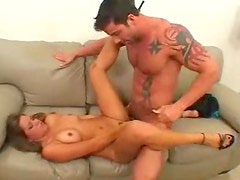 Her man watches her fuck a stud