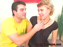 Naughty babe Linda gets laid with Petra for some fisting