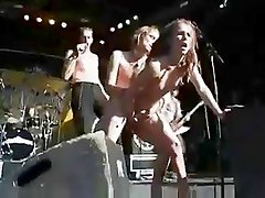 2004 performance of the band Cumshot - sex on stage