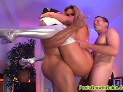 Big tits Babe Fucked By A Black Guy