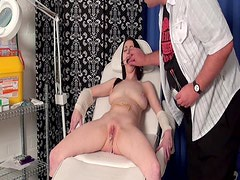 Medical needle torture and bizarre pussy humiliation
