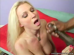 Devon Lee sucks a BBC before jumping on it ardently