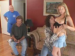 Cuckold likes to watch how Harmony Rose pleases another guy