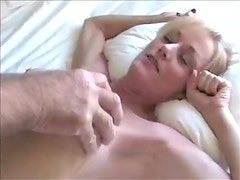 Busty milf doggy style and missionary