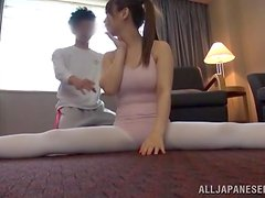Japanese slut Kaho Nanami squirts and gets amazingly fucked