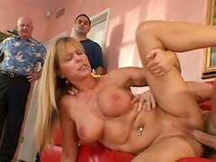 Nice slut Nicole Moore with pillowy breasts gets fucked silly