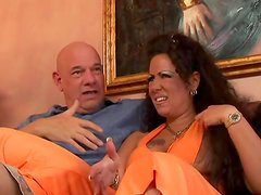 Anjelica Lauren is getting drilled in anal by Rod Fontana