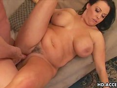 Mature MILF with big tits gets a fucking