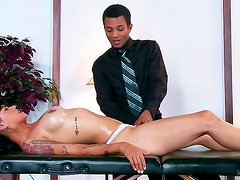Amateur boss is fucking his nasty chick