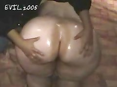 Big Butt Ann oiled