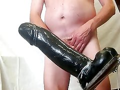 Another one giant dildo in my ass