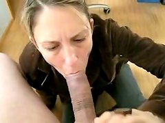 Sexually Excited mother I'd like to fuck receives her wet face gap stuffed with monster wang