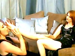 Two amazing porn stars Anastasia Pierce and Kendra James in their super hot action