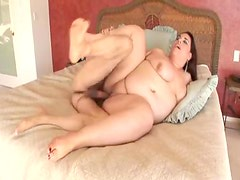 Fatty filled with that big cock