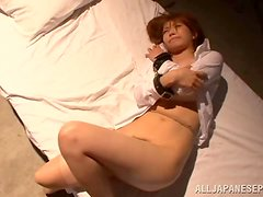 Pretty Yuuka Minase gets victimized by a perverted dude