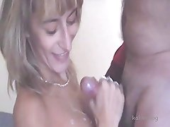 Amateur - Cum on Tits - 057au001
