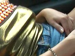 Real exhibitionist inside Chinese Restaurant - movie