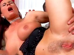 Katy Parker being fucked in her tight anal hole