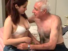 Old man fucks a sweet young thing