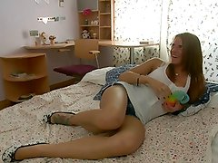 Hot Russian Girl getting all the Cocks