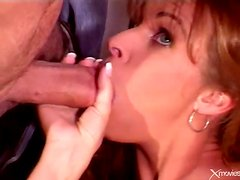Man sees his fit milf wife have sex with another
