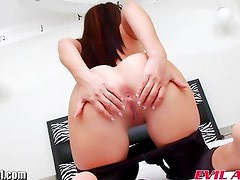 EvilAngel Eloa Lombard Gaping Anal