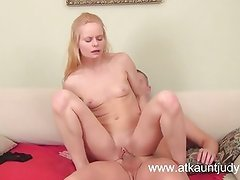 Sexy Suzy gets her holes filled by her man.