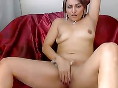 Latin Milf showing her sweet pussy