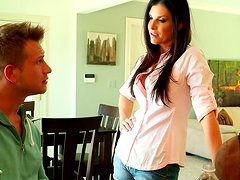 Blowlerina India Summer demonstrates her great dick sucking skills