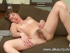 Victoria fingers her wet pussy and gets off.