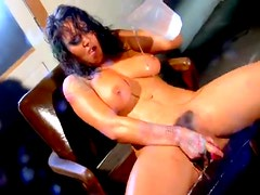 Girl is all wet and masturbating furiously