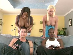 Versatile buxom swingers gonna have a super hot and long lasting group fuck
