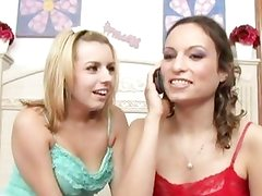 Anal treat from Lexi Belle and Amber Rayne
