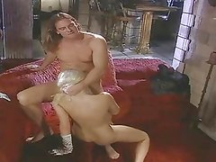 British slut Hannah Harper gets fucked by the fireplace