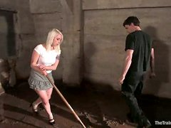 Busty and booty blond Lorelei Lee gets buried