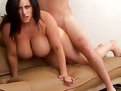Curvy Mom with Hot Tits Fucked by TROC