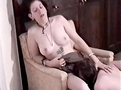 I filmed two dykes getting nasty