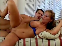 Big breasted Krystal De Boor fucked on film