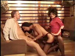Classic fuck movie includes butt banging