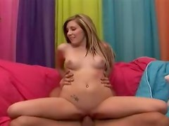 Smutty whore Cara Dee slammed with thick Rod and charming face cum glazed