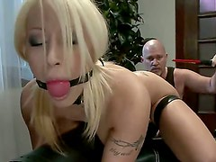 Mark Daves and Candy Manson is being fucked by her perverted boyfriend, that likes to play