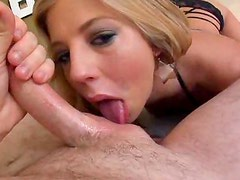 Chastity Lynn is all about the deepthroat BJ