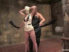 Cherry Torn gets beaten and fucked in hot BDSM clip
