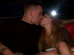 Four horny couples have some naughty group banging in the living room