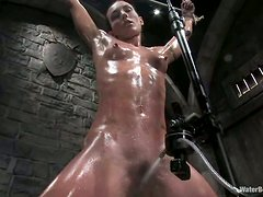 Wenona the slim brunette gets toyed and tortured