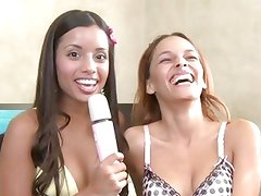 Vibrator fun with Little Lupe and friend