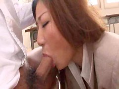 Sexy Japanese teacher gangbanged by students