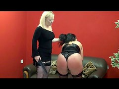 Femdom video with pain for the fat submissive